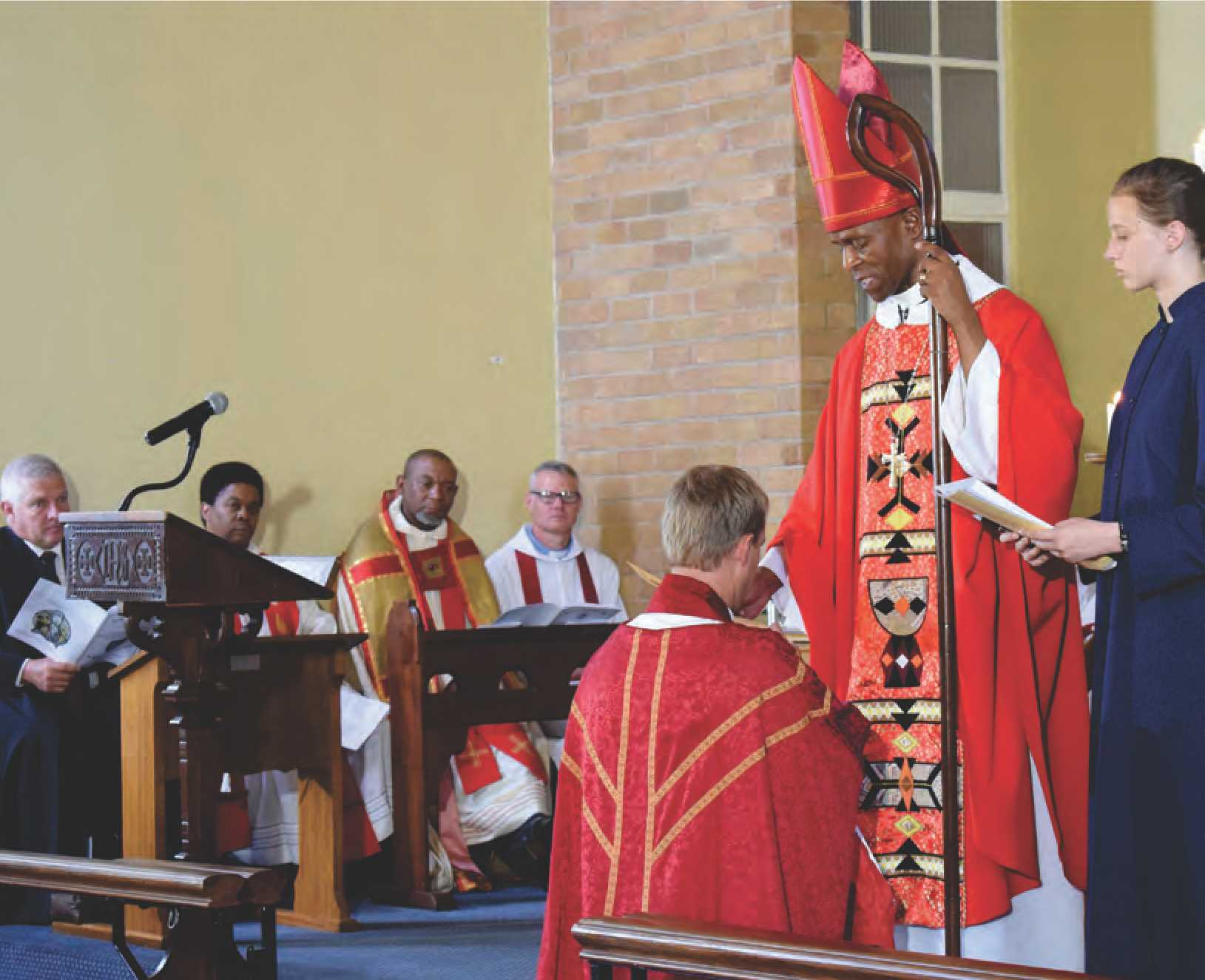 Father Grants ordination in SMS Chapel momentous and historic