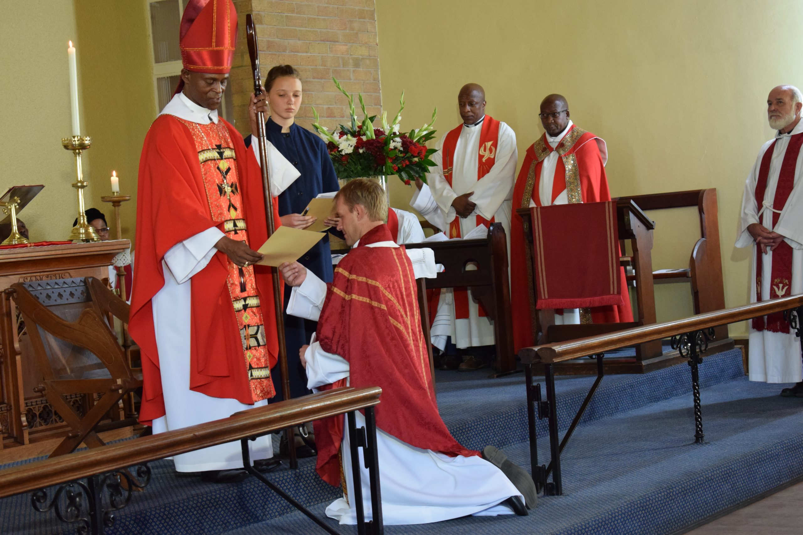 Father Grant's ordination in SMS Chapel momentous and historic